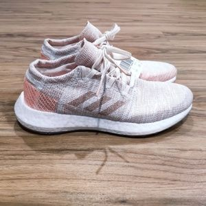 Adidas PureBOOST GO W Pink Orange White